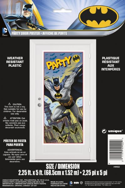 Batman Door Poster